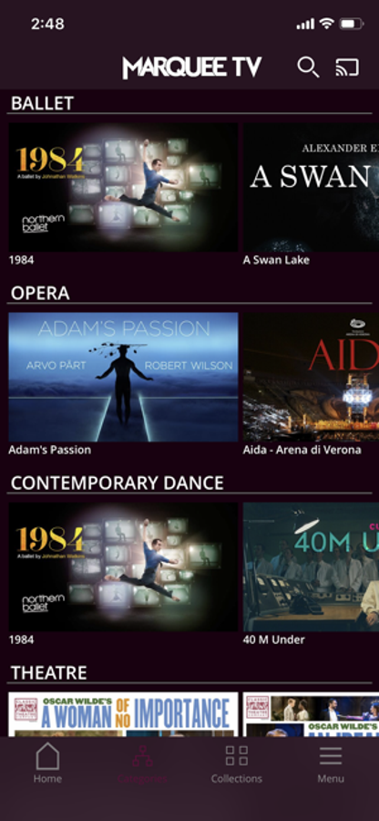 Marquee TV - Arts on Demand - Free download and software ...