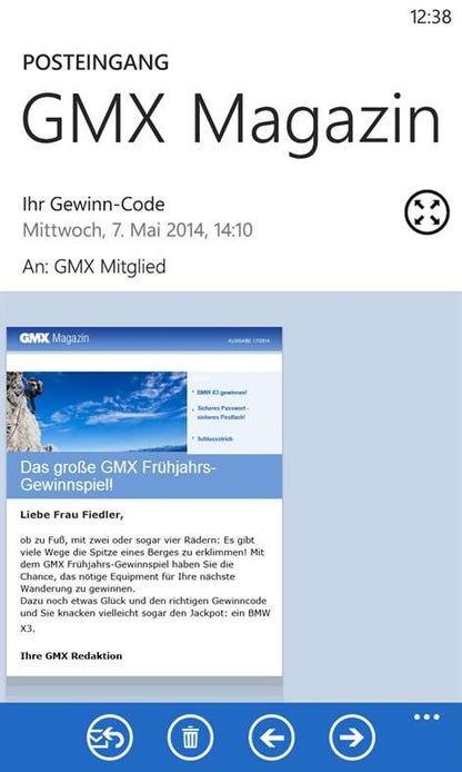 GMX Mail for Windows 10 - Free download and software